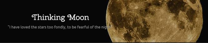 thinking moon