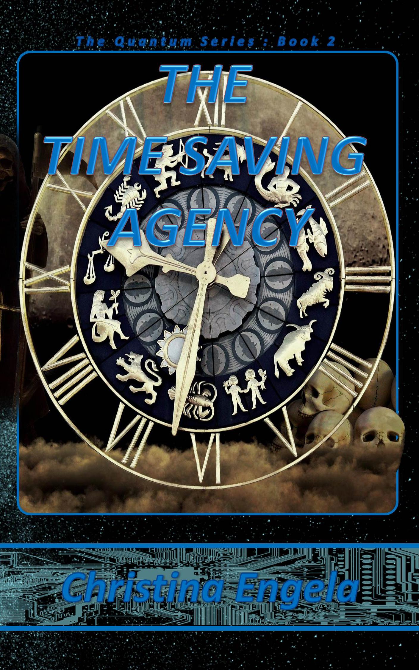 Quantum Series #2 - The Time Saving Agency 2019 - Front