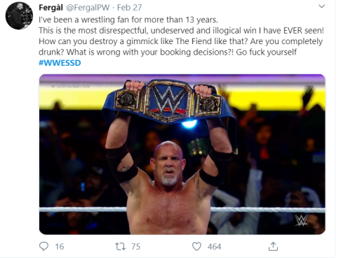 goldberg tweet